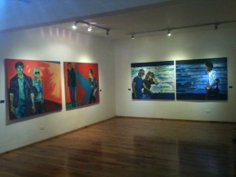 Works on Exhibition in Veracruz, Mexico