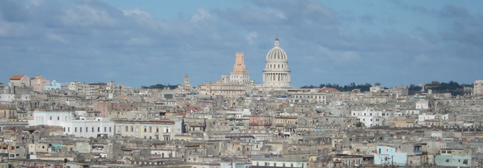 Scenes of Cuba, View of the Capitol, 2008